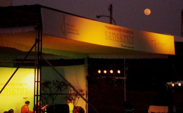 ~*moon watching Dr Reddys sanskriti's glory*~ By. B. Hanimi Reddy